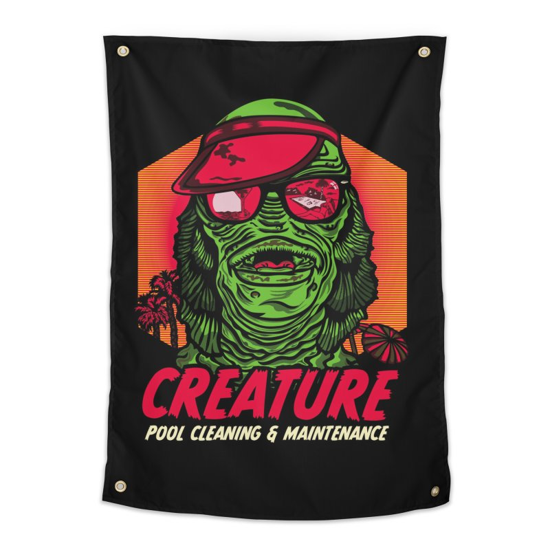 Creature Home Tapestry by malgusto