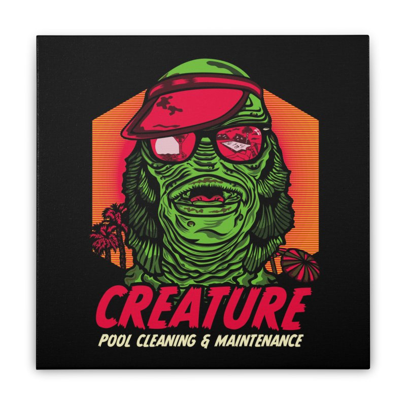 Creature Home Stretched Canvas by malgusto
