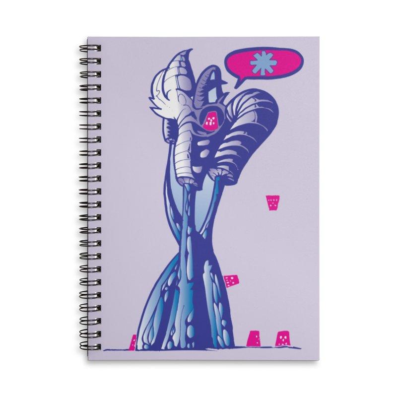 ROBOT Accessories Notebook by MALLEUS ROCK ART LAB