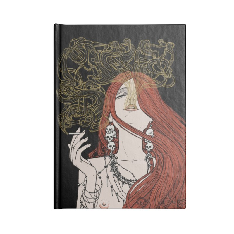 SMOKE Accessories Notebook by MALLEUS ROCK ART LAB