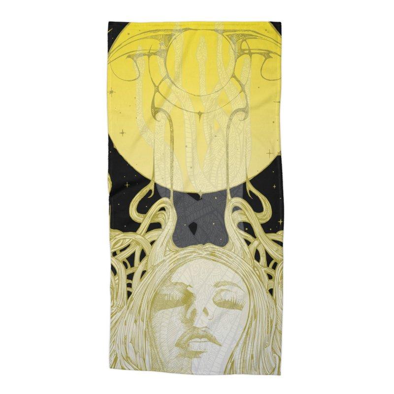 EVE Accessories Beach Towel by MALLEUS ROCK ART LAB