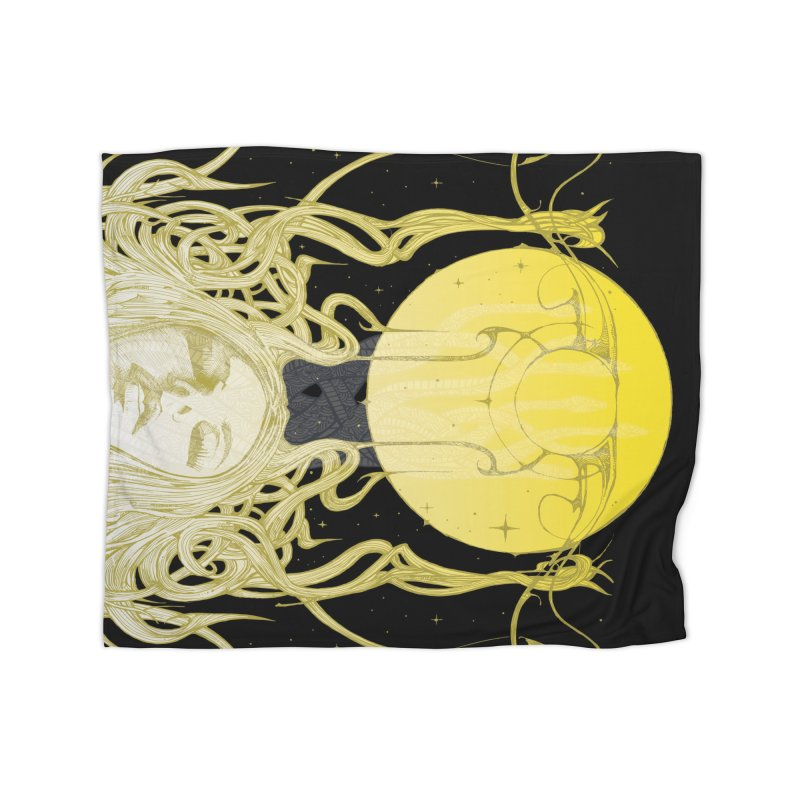 EVE Home Blanket by MALLEUS ROCK ART LAB