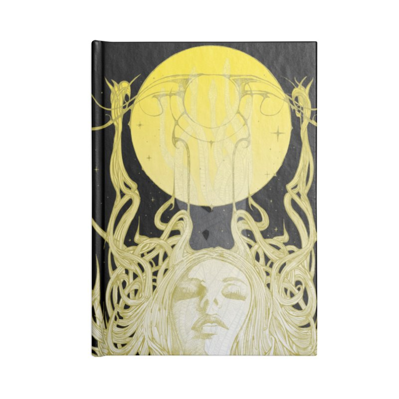 EVE Accessories Notebook by MALLEUS ROCK ART LAB