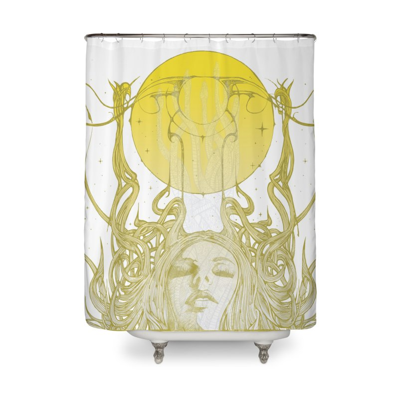 EVE Home Shower Curtain by MALLEUS ROCK ART LAB