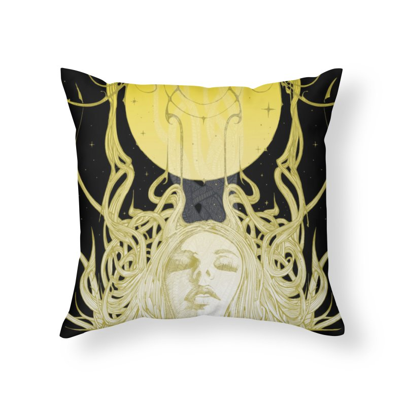 EVE Home Throw Pillow by MALLEUS ROCK ART LAB