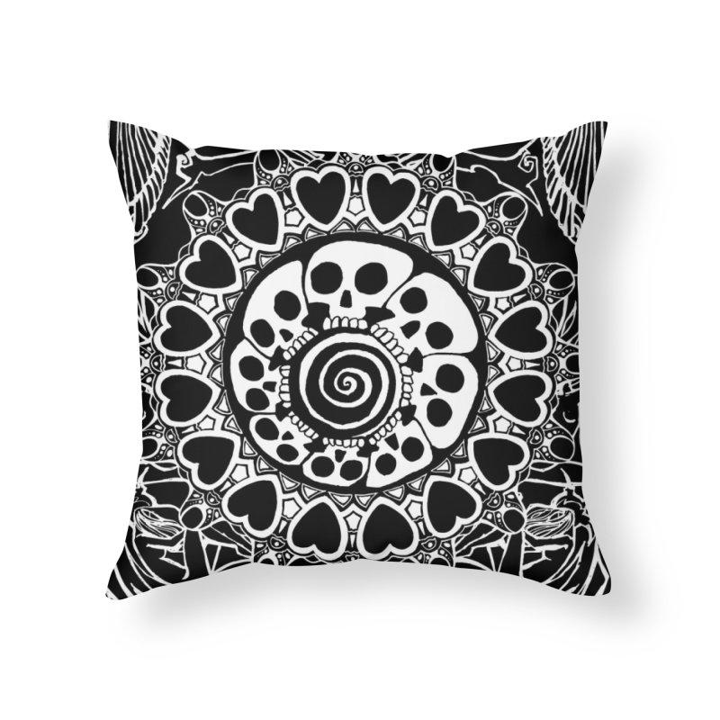 MALLEUS Home Throw Pillow by MALLEUS ROCK ART LAB