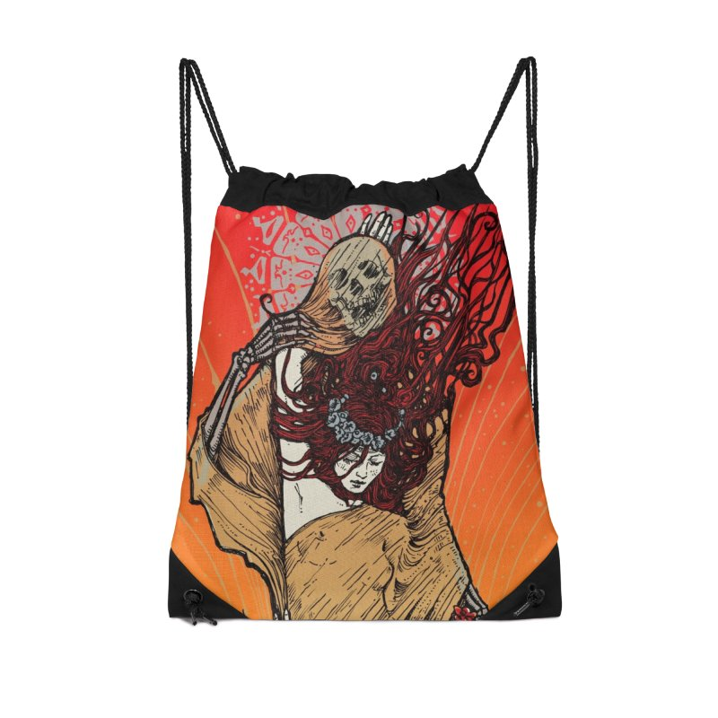 DOWN IN A HOLE Accessories Bag by MALLEUS ROCK ART LAB