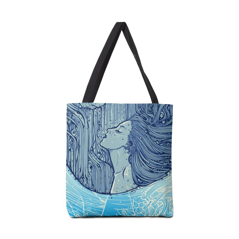WATER Accessories Bag by MALLEUS ROCK ART LAB