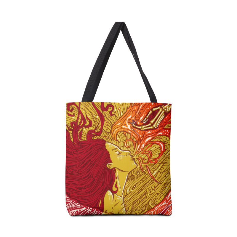 FIRE Accessories Bag by MALLEUS ROCK ART LAB