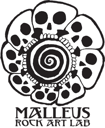 MALLEUS ROCK ART LAB Logo