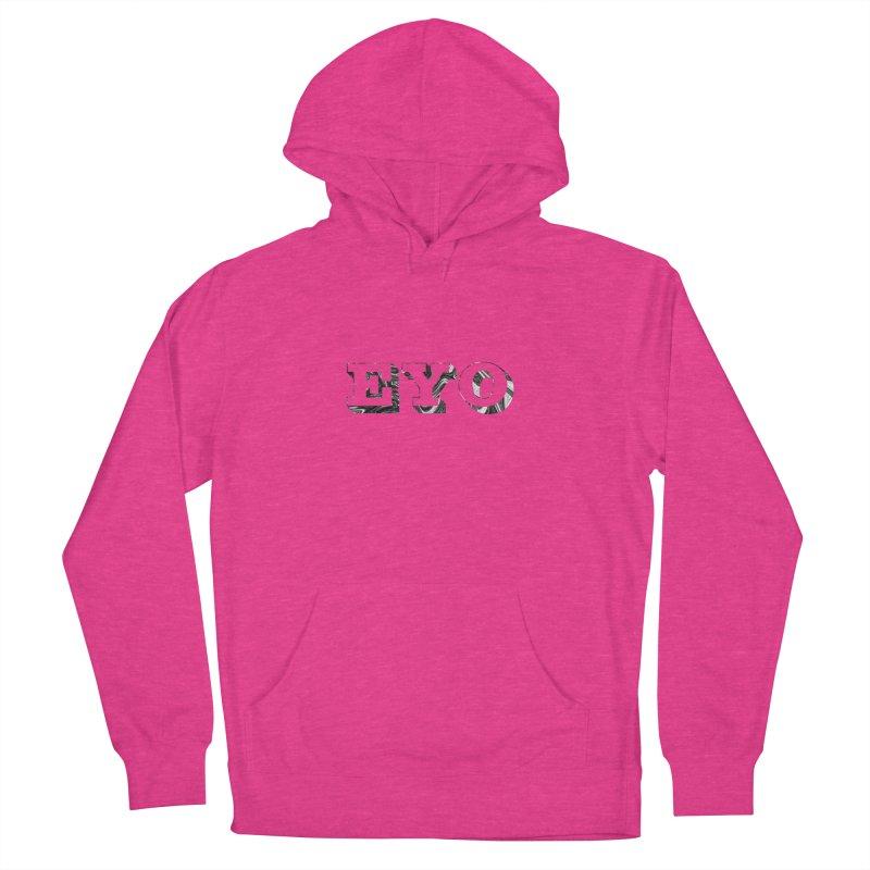 "EYO (Pronunciation ""A-O"") Women's Pullover Hoody by malsarthegreat's Artist Shop"