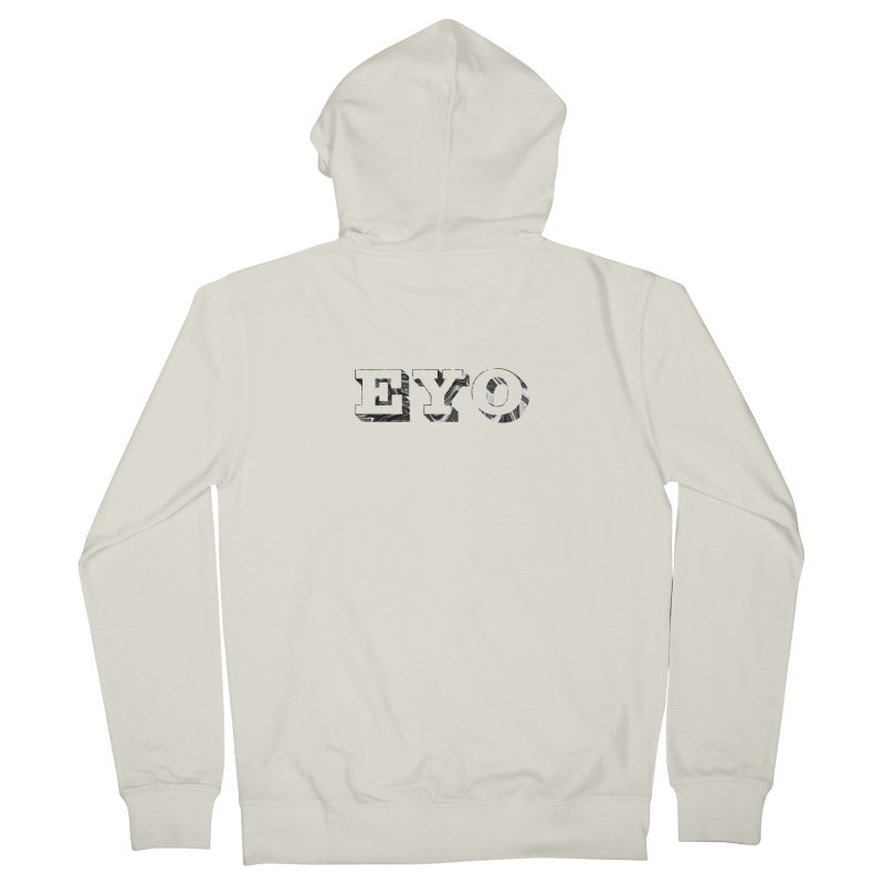 "EYO (Pronunciation ""A-O"") Men's Zip-Up Hoody by malsarthegreat's Artist Shop"