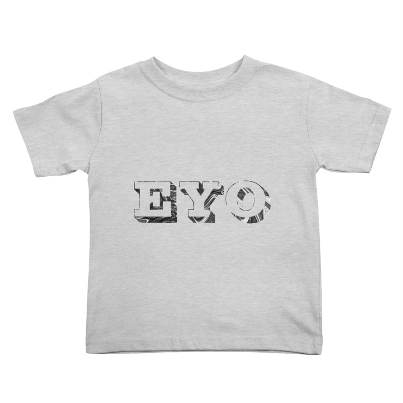 "EYO (Pronunciation ""A-O"") Kids Toddler T-Shirt by malsarthegreat's Artist Shop"