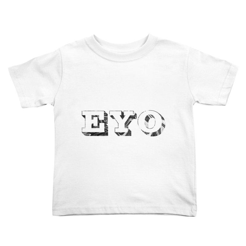 "EYO (Pronunciation ""A-O"") Kids Toddler T-Shirt by malsarthegreat's Artist Shop"