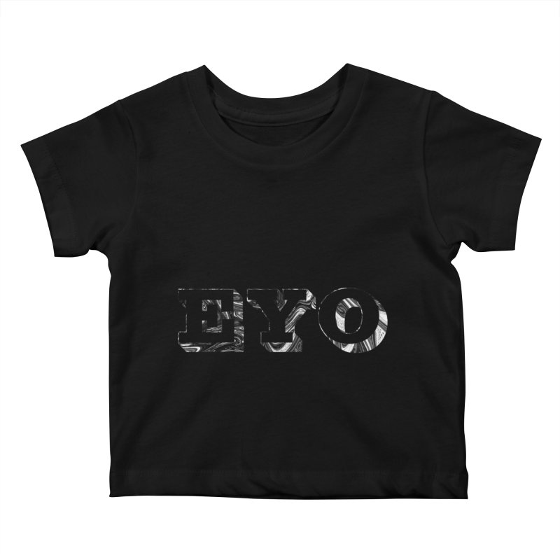 "EYO (Pronunciation ""A-O"") Kids Baby T-Shirt by malsarthegreat's Artist Shop"