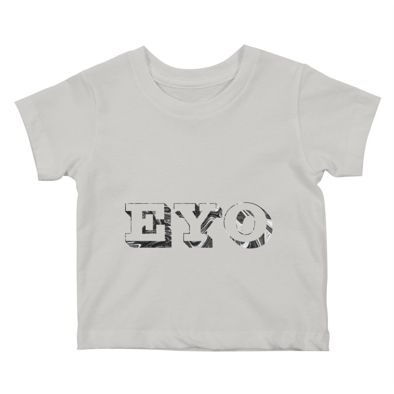 "EYO (Pronunciation ""A-O"") Kids Baby T-Shirt by malsarthegreat's Artist Shop"