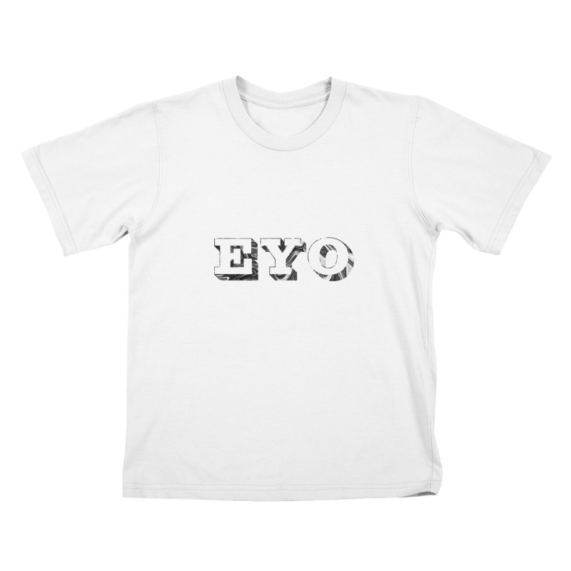 "EYO (Pronunciation ""A-O"") Kids T-shirt by malsarthegreat's Artist Shop"