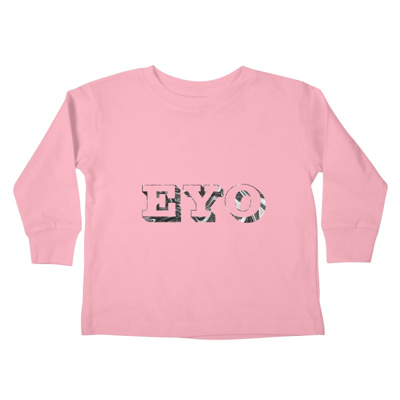 """EYO (Pronunciation """"A-O"""") Kids Toddler Longsleeve T-Shirt by malsarthegreat's Artist Shop"""
