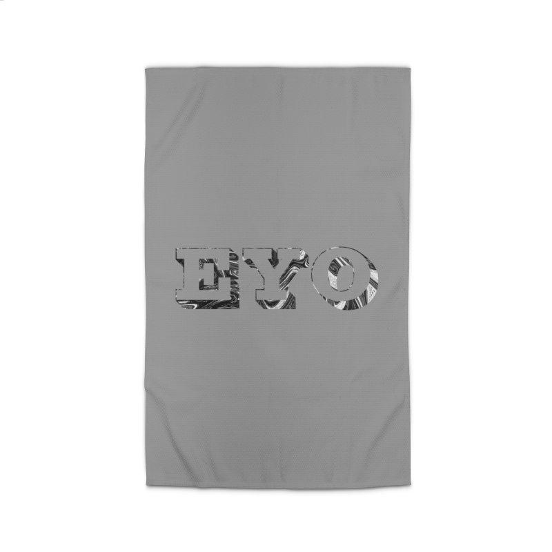"EYO (Pronunciation ""A-O"") Home Rug by malsarthegreat's Artist Shop"