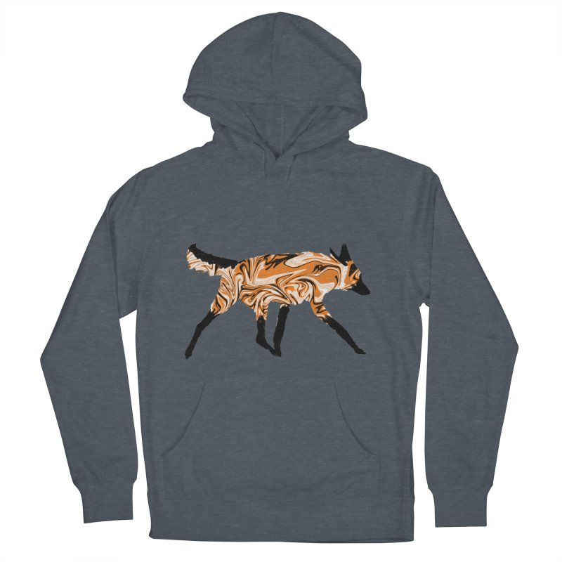 The Fox Men's Pullover Hoody by malsarthegreat's Artist Shop