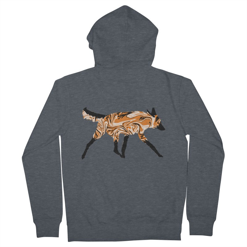 The Fox Women's Zip-Up Hoody by malsarthegreat's Artist Shop