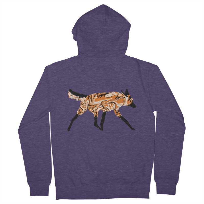 The Fox Men's Zip-Up Hoody by malsarthegreat's Artist Shop
