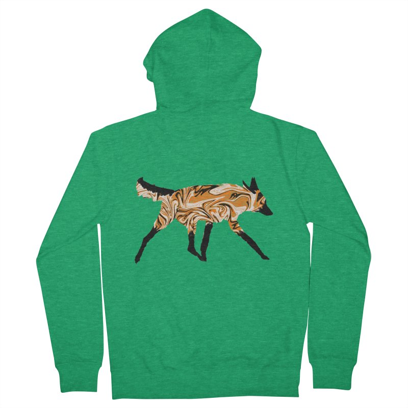 The Fox Men's Zip-Up Hoody by malsarthegreat's Artist Shop