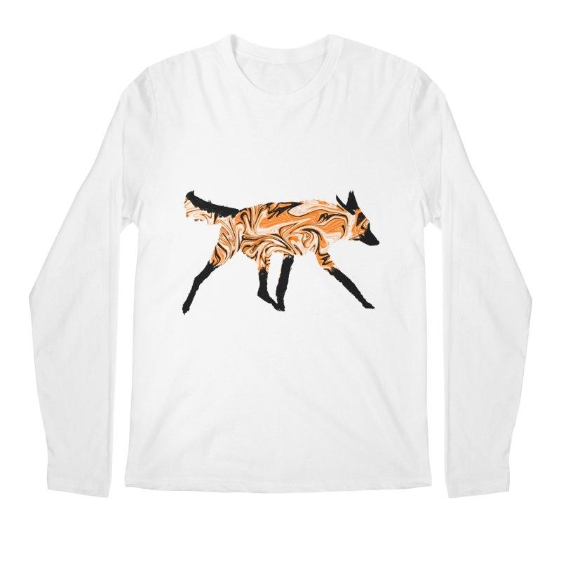 The Fox Men's Longsleeve T-Shirt by malsarthegreat's Artist Shop