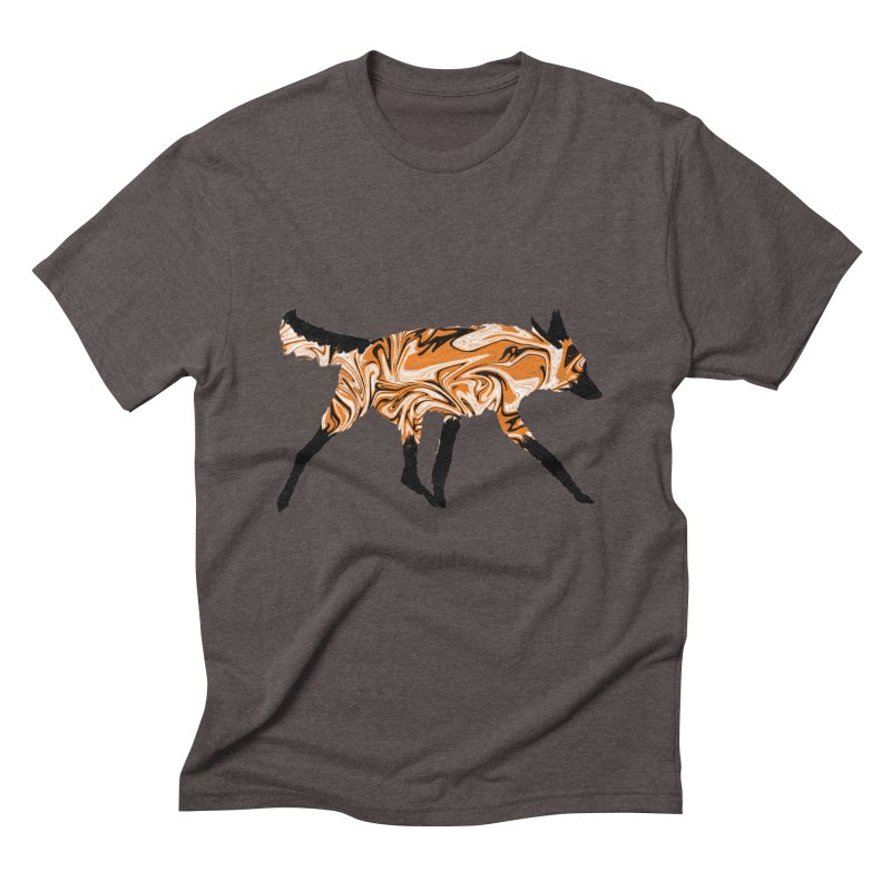The Fox Men's Triblend T-Shirt by malsarthegreat's Artist Shop