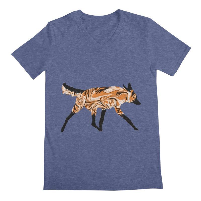 The Fox Men's V-Neck by malsarthegreat's Artist Shop