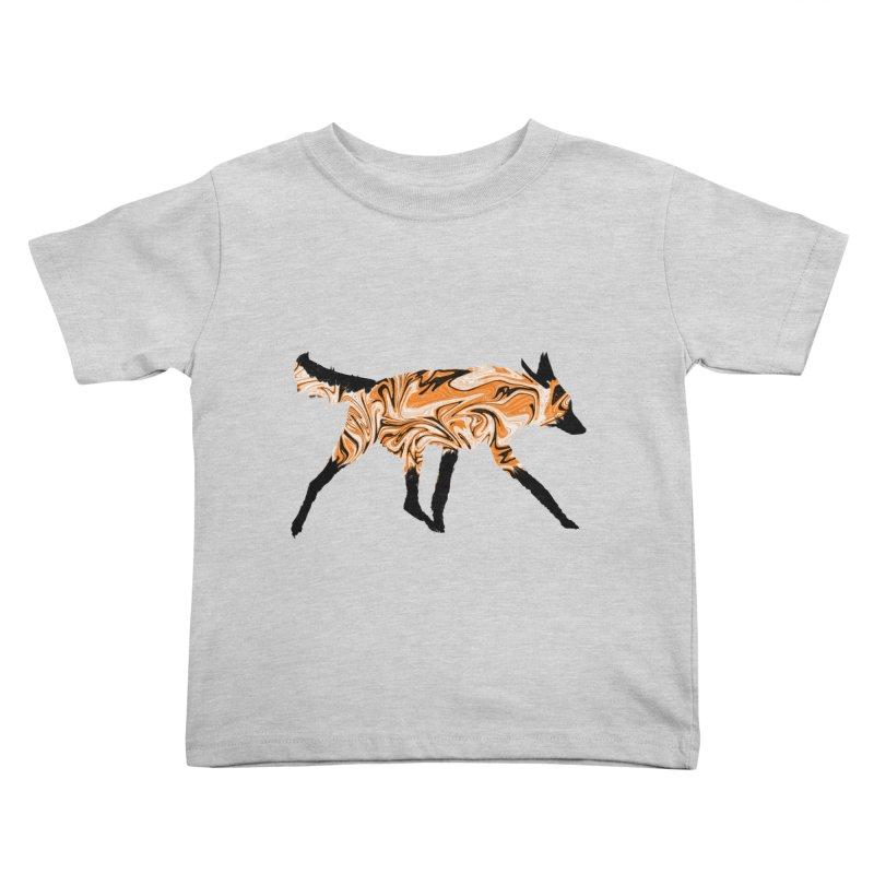 The Fox Kids Toddler T-Shirt by malsarthegreat's Artist Shop