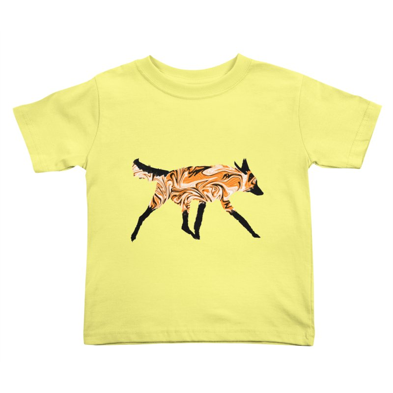 The Fox Kids Toddler T-Shirt by malsarthegreat's Artist Shop