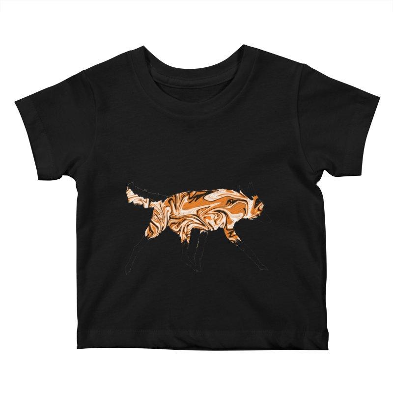 The Fox Kids Baby T-Shirt by malsarthegreat's Artist Shop