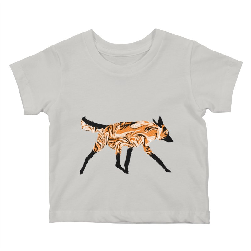 The Fox Kids Baby T-Shirt by malsarthegreat's Artist Shop