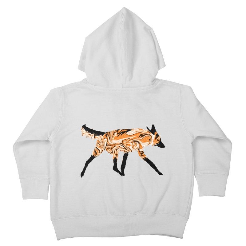 The Fox Kids Toddler Zip-Up Hoody by malsarthegreat's Artist Shop