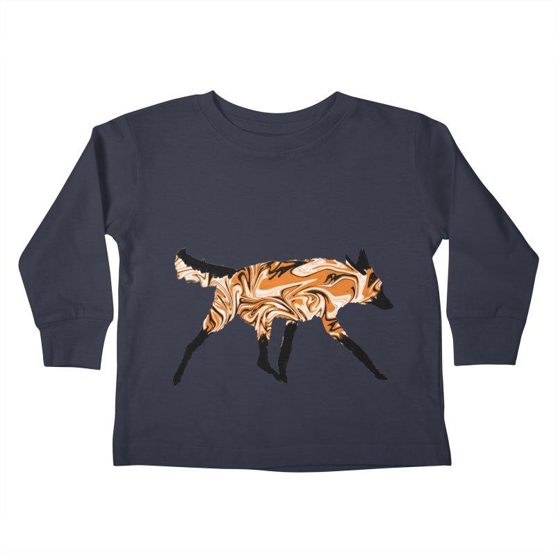 The Fox Kids Toddler Longsleeve T-Shirt by malsarthegreat's Artist Shop