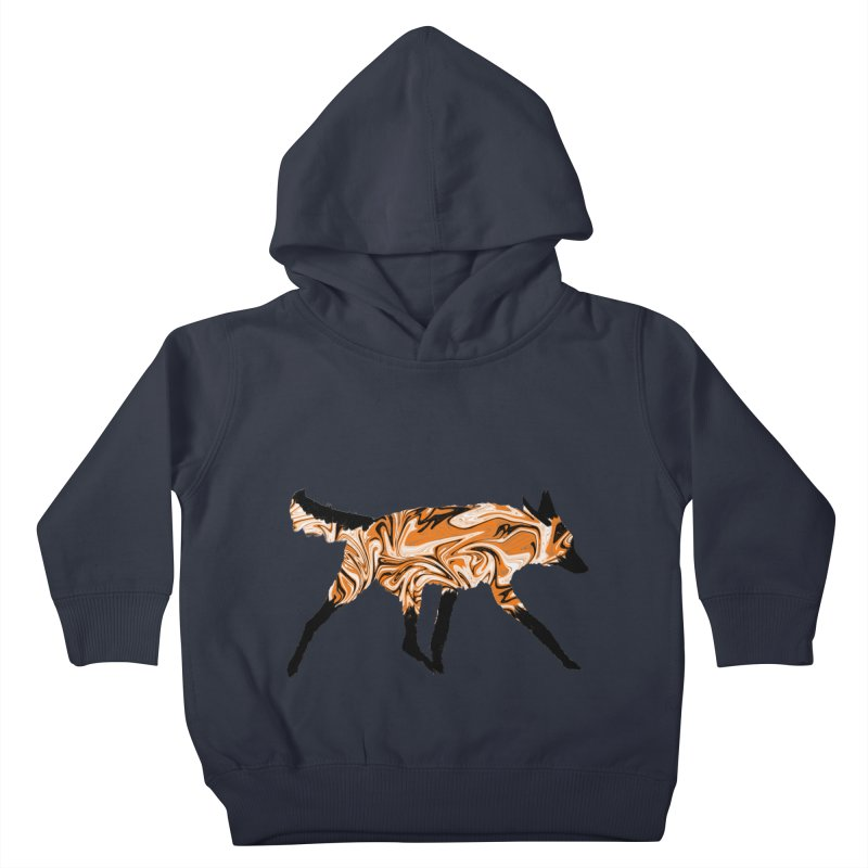 The Fox Kids Toddler Pullover Hoody by malsarthegreat's Artist Shop