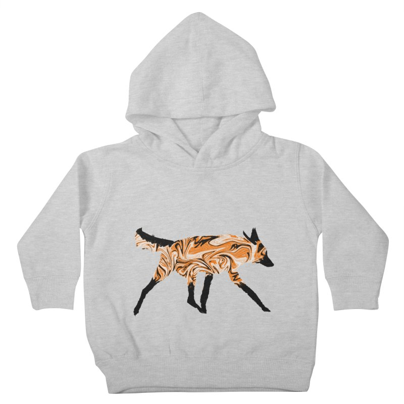 The Fox Kids Toddler Pullover Hoody by malsarthegreat's Artist Shop