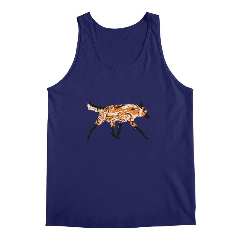The Fox Men's Tank by malsarthegreat's Artist Shop