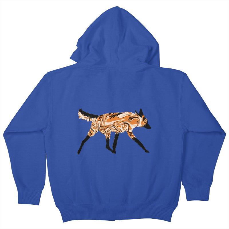 The Fox Kids Zip-Up Hoody by malsarthegreat's Artist Shop