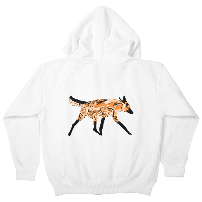 The Fox Kids Zip-Up Hoody by malsarthegreat's Artist Shop