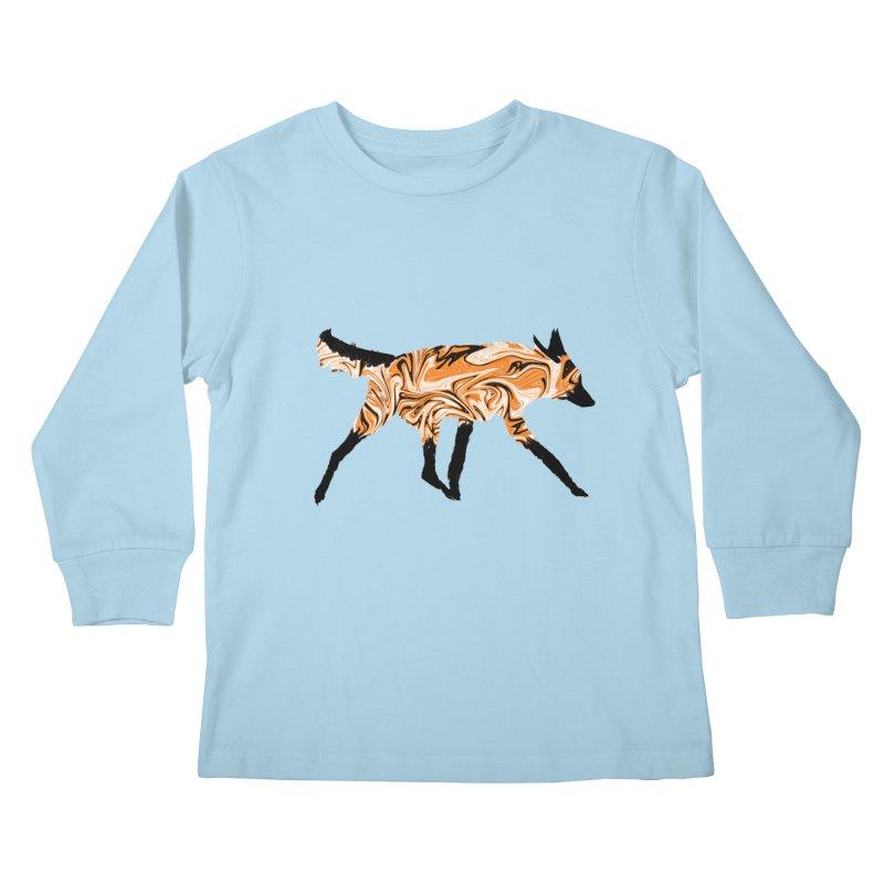 The Fox Kids Longsleeve T-Shirt by malsarthegreat's Artist Shop