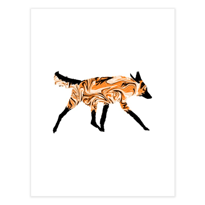 The Fox Home Fine Art Print by malsarthegreat's Artist Shop
