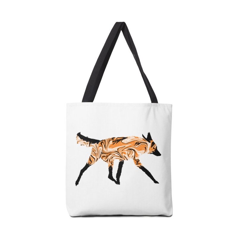 The Fox Accessories Bag by malsarthegreat's Artist Shop