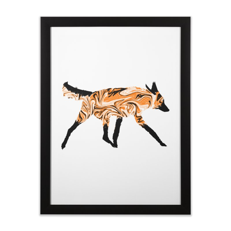 The Fox Home Framed Fine Art Print by malsarthegreat's Artist Shop