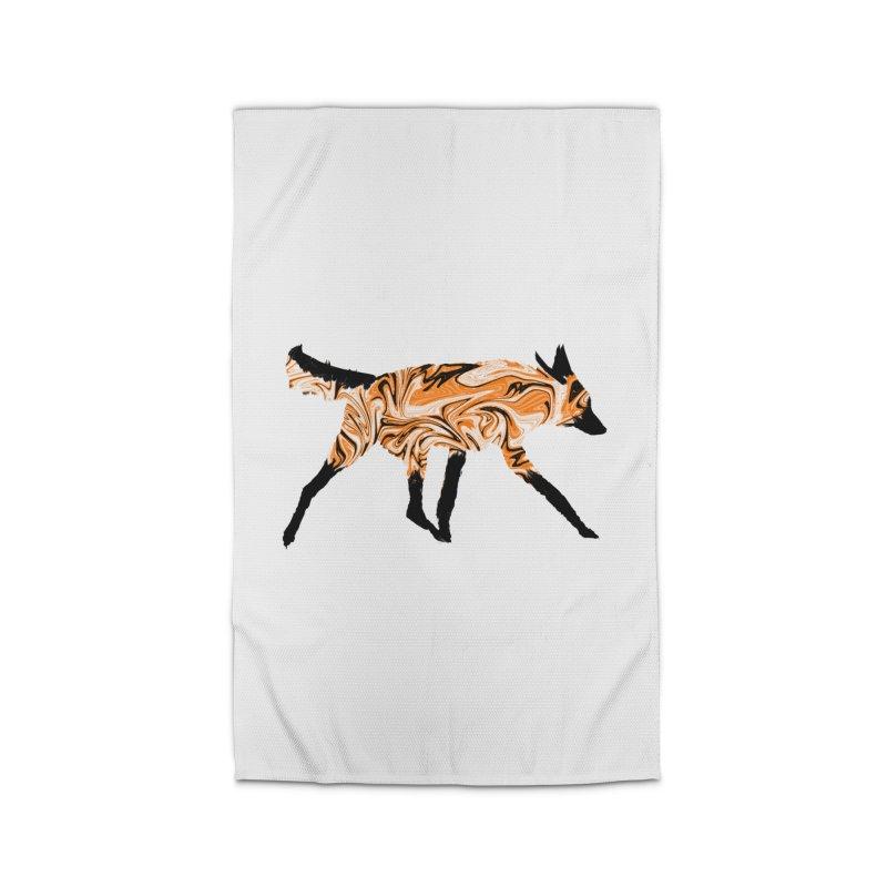 The Fox Home Rug by malsarthegreat's Artist Shop