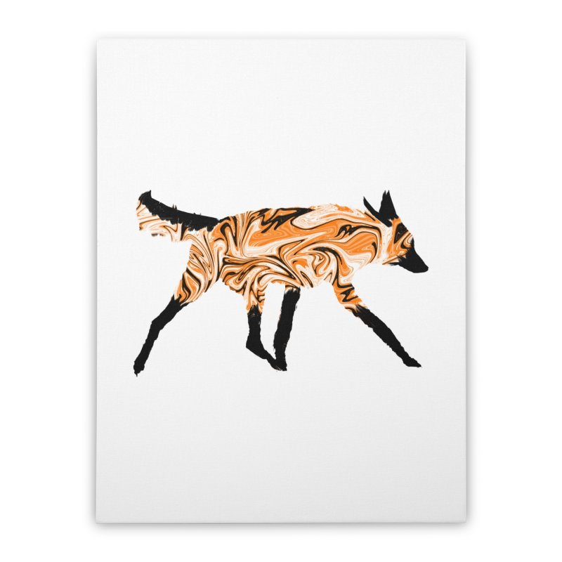 The Fox Home Stretched Canvas by malsarthegreat's Artist Shop