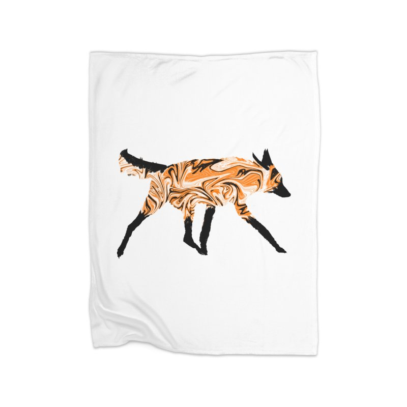 The Fox Home Blanket by malsarthegreat's Artist Shop