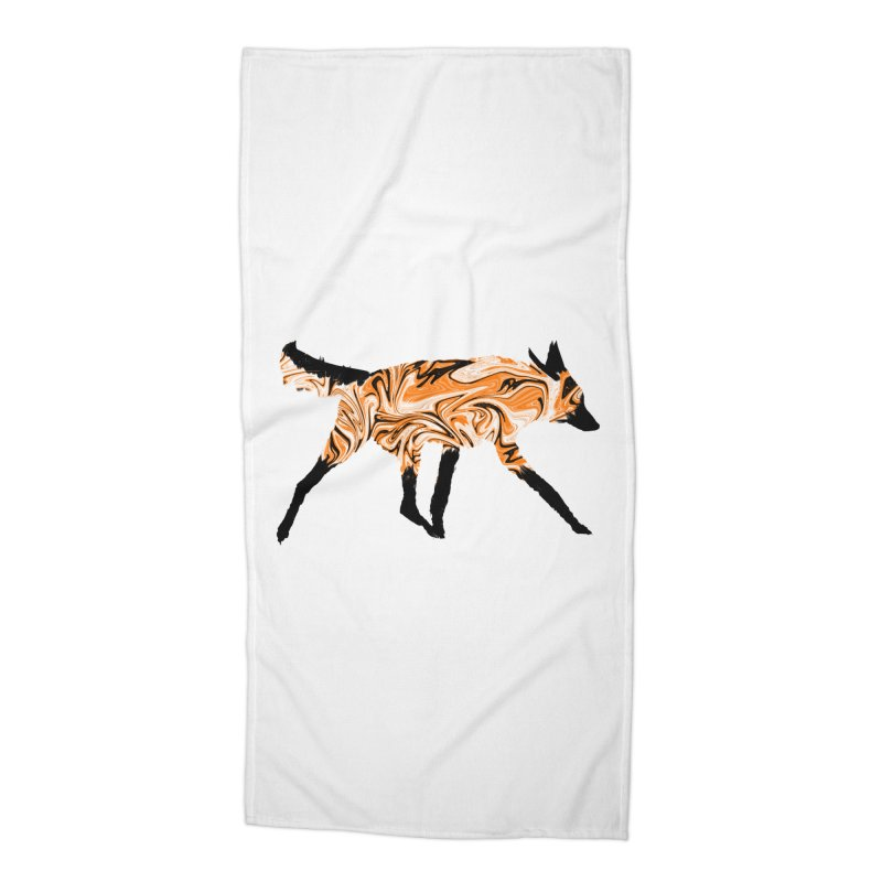 The Fox Accessories Beach Towel by malsarthegreat's Artist Shop