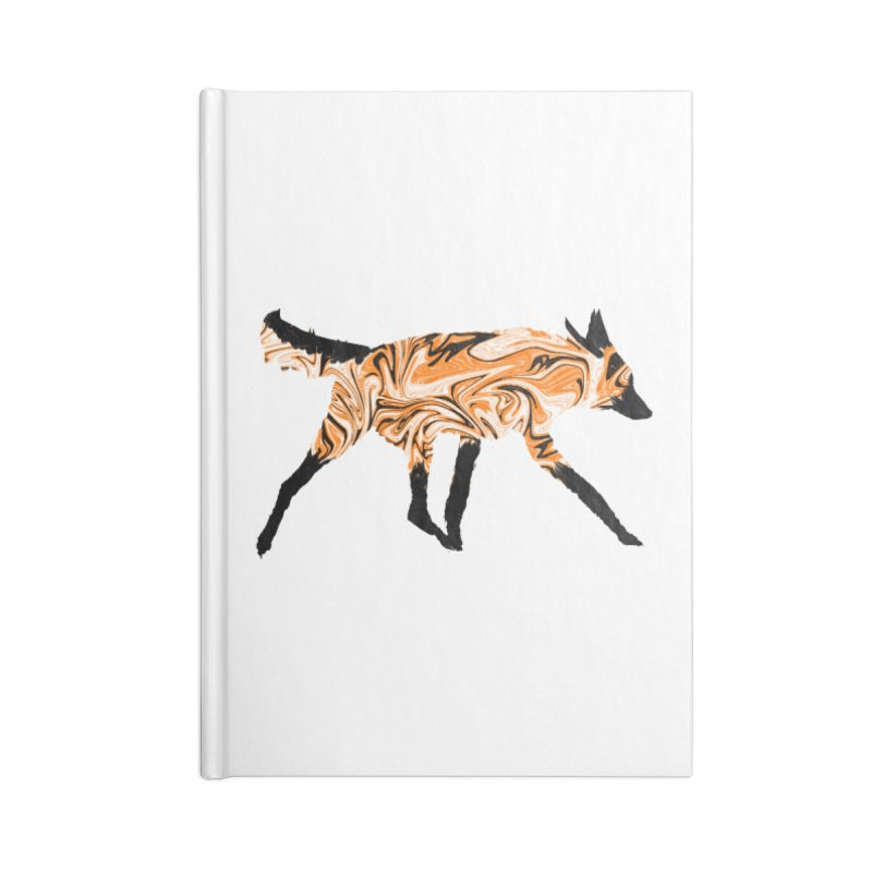 The Fox Accessories Notebook by malsarthegreat's Artist Shop